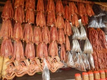Dried Fish at Market